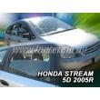 HONDA STREAM 5 ajtós 2000-2007 4db-os (légterelő)