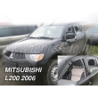 MITSUBISHI L200 4 ajtós (double cab) 06 - 2006 > 4db-os (légterelő)
