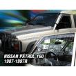 NISSAN PATROL GR Y60 5 ajtós 1987 - 1997 4db-os (elektromos tükörrel) (légterelő)