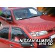 NISSAN ALMERA N15 4 ajtós / 5 ajtós 1995-2000 4db-os HEKO /légterelő/ #