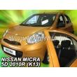 NISSAN MICRA K13, 5 ajtós 11/2010> 4db-os (légterelő)