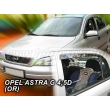 OPEL ASTRA G 4 ajtós / 5 ajtós 1998>(rögzítése kétoldalas ragasztóval kívülről a...