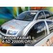 SKODA FABIA 4 ajtós / 5 ajtós 2000>(rögzítése kétoldalas ragasztóval kívülről a ...