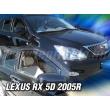 LEXUS RX 5 ajtós 2005 > 4db-os (légterelő)
