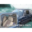 VW GOLF II 1983 - 1987 5 ajtós (osztott ablakos) (légterelő)