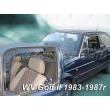 VW GOLF II 1983 - 1987 5 ajtós 4db-os(osztott ablakos) (légterelő)