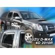ISUZU D-MAX 4 ajtós 2010 > 4db-os (légterelő)