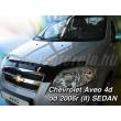 CHEVROLET AVEO II 4 ajtós 2006 - > sedan (Motorháztető-védő)