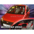MICROCAR VIRGO  - 3 ajtós 2db-os HEKO /Légterelő/