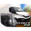 IVECO TURBO DAILY  2014- 2 ajtós 2db-os HEKO /légterelő/ *