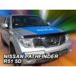 NISSAN PATHFINDER R51 2005- 2012    HEKO Motorháztetővédő