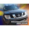 NISSAN NAVARA D40 2005- 2010 (Facelift Előtt)   HEKO Motorháztetővédő