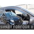 SMART FORFOUR  2014- 5 ajtós 2db-os HEKO /légterelő/ *