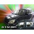 DR MOTOR DR5  2007- 5 ajtós 4db-os HEKO /légterelő/ #