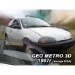 GEO METRO  1995-1997 3 ajtós  USA változat  2db-os HEKO /légterelő/ *