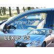 LEXUS GS L10 2012- 4 ajtós 2db-os HEKO /légterelő/ *