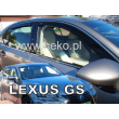 LEXUS GS L10 2012- 4 ajtós 4db-os HEKO /légterelő/ #