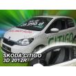 SKODA CITIGO  2012- 3 ajtós 2db-os HEKO /légterelő/ *