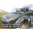 ZX AUTO GRAND TIGER  2011- 4 ajtós 2db-os HEKO /Légterelő/