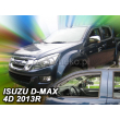 ISUZU D-MAX  2012- 2/4 ajtós 2db-os HEKO /légterelő/ *