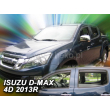 ISUZU D-MAX  2012- 4 ajtós 4db-os HEKO /légterelő/ #